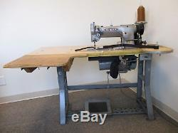 Industrial Sewing Machine CONSEW 226 WALKING FOOT With TABLE AND MOTOR