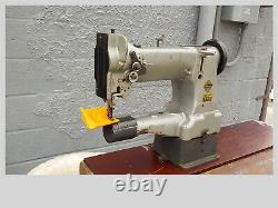 Industrial Sewing Machine Model Admiral WF-108B walking foot, cylinder, Leather