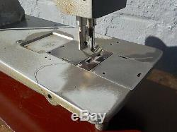 Industrial Sewing Machine Model Consew 225 single walking foot- Leather