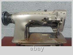 Industrial Sewing Machine Model Consew 255 B single walking foot- Leather