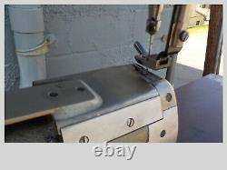 Industrial Sewing Machine Model Juki LS-321, cylinder, Leather