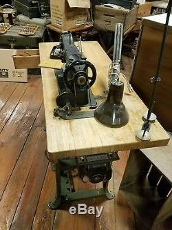 Industrial Sewing Machine Model Pfaff 138-6-U universal tailoring attatchments
