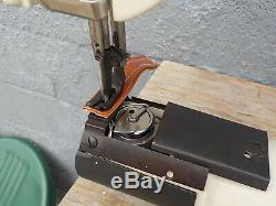 Industrial Sewing Machine Model Seiko CW 8B-1, walking foot, cylinder, Leather