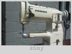 Industrial Sewing Machine Model Seilko LSC-8B-1 walking foot, cylinder, Leather