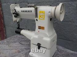 Industrial Sewing Machine Model Seilo CW-8B, walking foot, cylinder, Leather