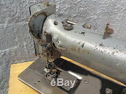 Industrial Sewing Machine Model Singer 111W155 single walking foot- Leather