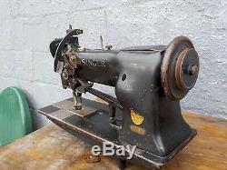 Industrial Sewing Machine Model Singer 111 W 117 walking foot- Leather