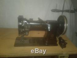 Industrial Sewing Machine Model Singer 144WSV36 walking foot- Leather