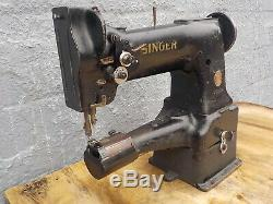 Industrial Sewing Machine Model Singer 153W102, cylinder, Leather