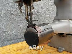 Industrial Sewing Machine Model Singer 153-103, walking foot, cylinder, Leather