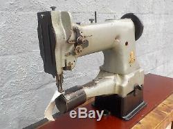 Industrial Sewing Machine Model Singer 153 K103 walking foot, cylinder, Leather
