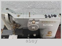Industrial Sewing Machine Model Singer 167G101 double needle zigzag