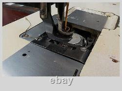 Industrial Sewing Machine Model Singer 211-A1121K, single walking foot- Leather