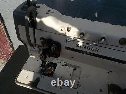 Industrial Sewing Machine Model Singer 211-A112K, single walking foot-r- Leather