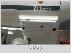Industrial Sewing Machine Model Singer 211-A967KB, single walking foot- Leather