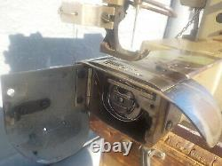Industrial Sewing Machine Model Tecmic LS3-M202, walking foot, cylinder, Leather