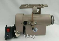Industrial Sewing Machine Servo Motor Mains 240v with On/Off switch & Fittings