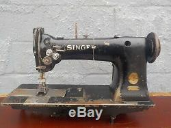 Industrial Sewing Machine Singer 112-145 two needle -Leather