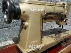 Industrial Sewing Machine Singer 212U141 with Reverse, two needle -Leather