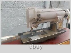 Industrial Sewing Machine Singer 212-140 Grey two needle -Leather