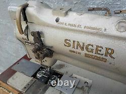 Industrial Sewing Machine Singer 212-140, two needle -Leather