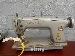 Industrial Sewing Machine Singer 281-22, one needle, needle feed -Leather