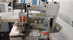 Industrial Sewing Machine Siruba 737K 3 thread Overlock with Elastic Feeder