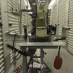 Industrial Sewing Machine Yamato Chainstitch Head on Elastic Waistband Machine