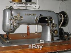 Industrial Singer 307 Sail, Kite Zig Zag Heavy Duty Sewing Machine. Lot Sm2667