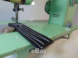 Industrial Strength BROTHER HEAVY DUTY Sewing Machine 12-14 OZ LEATHER