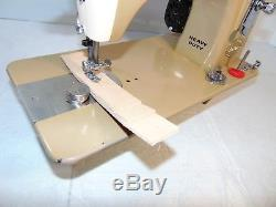 Industrial Strength HEAVY DUTY CHAMPLAIN SEWING MACHINE 18 OZ LEATHER