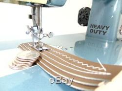 Industrial Strength HEAVY DUTY SEWING MACHINE 16 OZ LEATHER, ZIGZAG, JEANS WOW