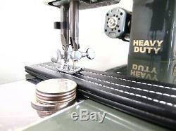 Industrial Strength HEAVY DUTY SEWING MACHINE 16 OZ TOOLING, MADE IN JAPAN
