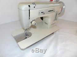 Industrial Strength HEAVY DUTY SINGER 217 SEWING MACHINE 16 OZ LEATHER WOW