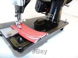 Industrial Strength HEAVY DUTY SINGER 99K SEWING MACHINE 14-16 OZ TOOLING