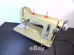 Industrial Strength Heavy Duty Necchi Sewing Machine Double Belting, Thick Jeans