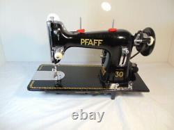 Industrial Strength Heavy Duty Pfaff Sewing Machine, Double Belting Wow Wow