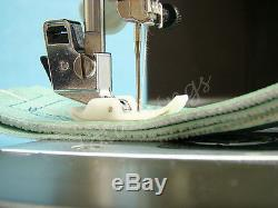 Industrial Strength Heavy Duty Sewing Machine +walking Foot Leather & Upholstery