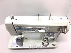 Industrial Strength Heavy Duty Vintage Morse Sewing Machine Sew Leather W Zigzag