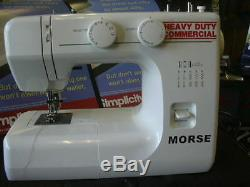 Industrial strength walking foot sewing machine powerfull heavy duty leather ##