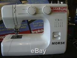 Industrial strength walking foot sewing machine powerfull heavy duty leather #