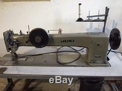 JUKI 145W304 2-Needle 1 Long Arm 35 Walking Foot Industrial Sewing Machine