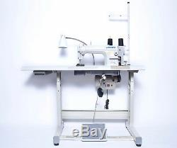 JUKI DDL-5550N Single Needle Industrial Machine + table, servo motor, led lamps