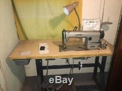 JUKI DDL-555 Industrial Sewing Machine Works