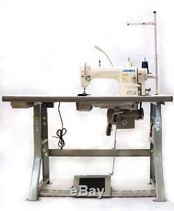 JUKI DDL-8700H Industrial Sewing Machine with Stand, Servo Motor &LED LAMPS USA