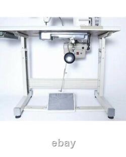 JUKI DDL-8700 Industrial Sewing Machine Lockstitch Servo Motor Stand LED LAMP