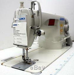 JUKI DDL-8700 Lockstitch Reverse Servo Motor 110V Industrial Sewing Machine NEW