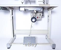 JUKI DDL-8700 Lockstitch Sewing Machine. Servo Motor, Table, Stand Fully Assembled
