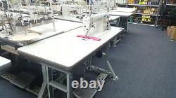 JUKI DDL-8700 Single Needle Straight Stitch Sewing Machine Assembled