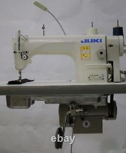 JUKI DDL-8700 Single Needle, With Stand, Servo Motor & LED LAMP FULLY ASSEMBLED